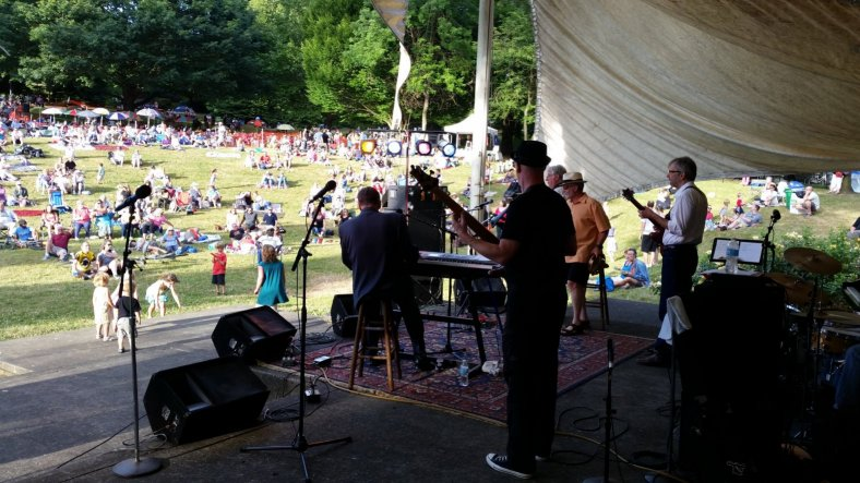 2014 Cathedral Park Jazz Festival