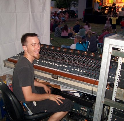 Nathan Wegner at the Console